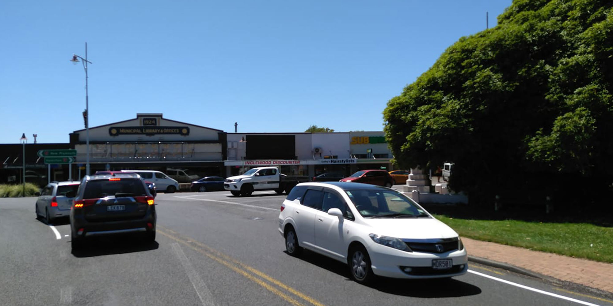 Street View of MAD Inglewood Static Board