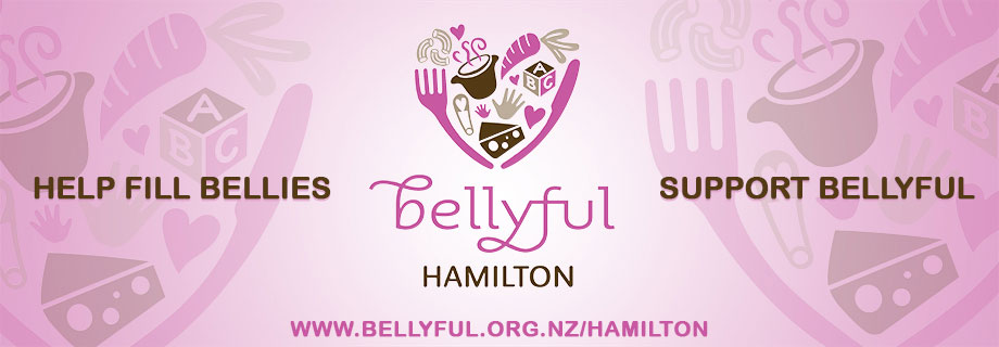 Pukete Board creative. Bellyful Hamilton. Help fill bellies. Support Bellyful. www.bellyful.org.nz/hamilton