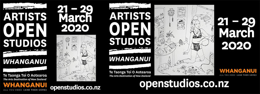 Liardet Board Creative. Artists open studios, Whanganui. openstudios.co.nz