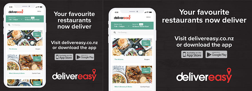 Liardet Board Creative. Your favourite restaurants now deliver. Visit delivereasy.co.nz or download the app. Deliver easy.