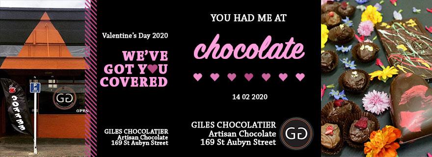 Giles Chocolatier Liardet Creative