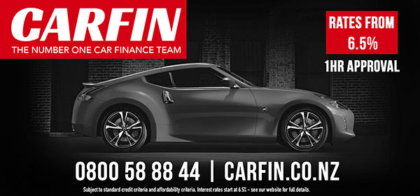 Dublin Board creative. Carfin, the number one car finance team. Rates from 6.5%, 1hour approval. 0800588844. carfin.co.nz
