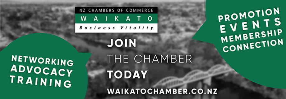 Waikato Chamber of Commerce Pukete Creative