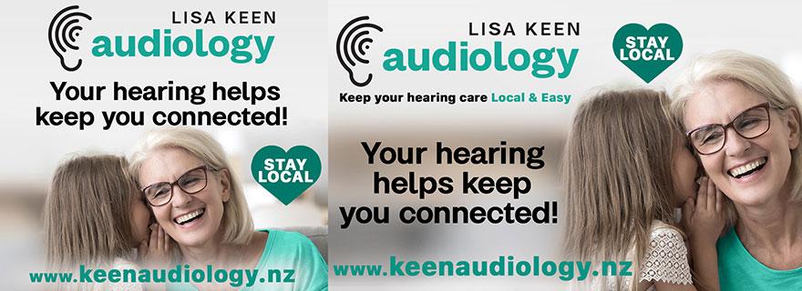 Lisa Keen Audiology Liardet Creative